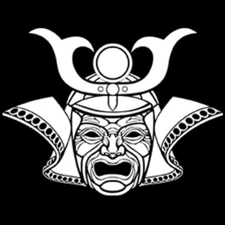 T-shirt samurai tattoo black version sublimation