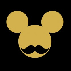tee shirt mickey mouse moustache  sublimation