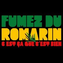 tee shirt Fumez du romarin  sublimation