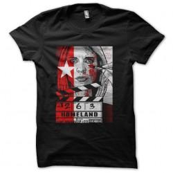 t-shirt homeland black...