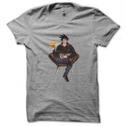 tee shirt follow me songoku...
