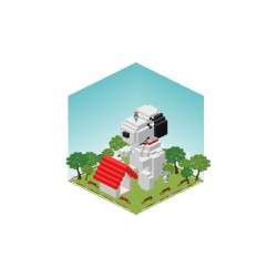 Tee shirt Ameba Pigg Snoopy...