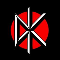 Dead kennedys logo black sublimation t-shirt