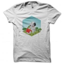 Ameba Pigg Snoopy T-Shirt white sublimation