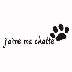 Cat print t-shirt I love my...