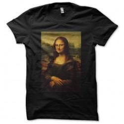 T-shirt La Joconde black sublimation