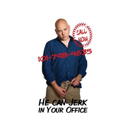Charlie Runkle Californication Jerk t-shirt in your office white sublimation