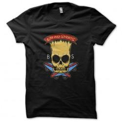 t-shirt bart simpson black...