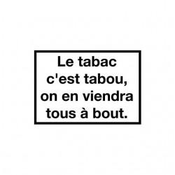 Tee shirt Les Inconnus Le pari Le tabac c'est tabou  sublimation