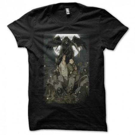 Dellamorte Dellamore black sublimation t-shirt