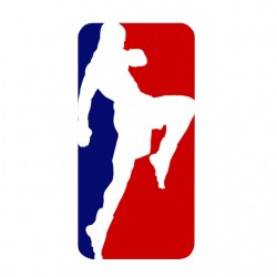 t-shirt thai boxing logo...