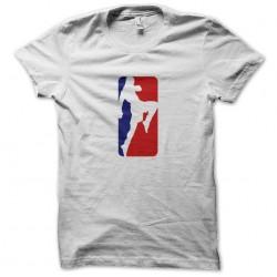 t-shirt thai boxing logo usa white sublimation