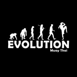 tee shirt Evolution muay thai  sublimation