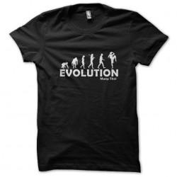tee shirt Evolution muay...