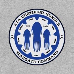 tee shirt stargate command gris sublimation