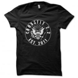 t-shirt ramones crossfit...