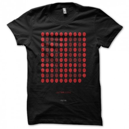 T-shirt 99 Luftballons Nena black sublimation