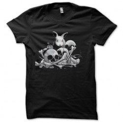 t-shirt rabbits and dead...