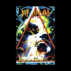 tee shirt def leppard triangle  sublimation