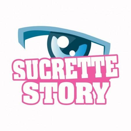 Secret Story parody Sucrette Story t-shirt white sublimation
