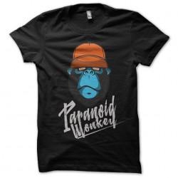 tee shirt Paranoid Monkey...