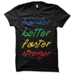 Tee shirt Daft Punk Harder...