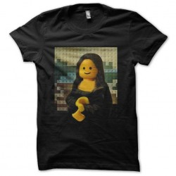 t-shirt lego the joconde...