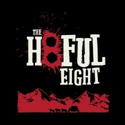 tee shirt the hatefull eight black sublimation
