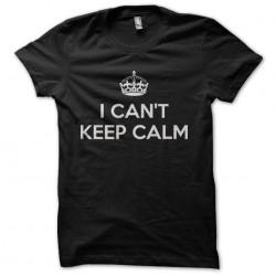tee shirt i can't keep calm...