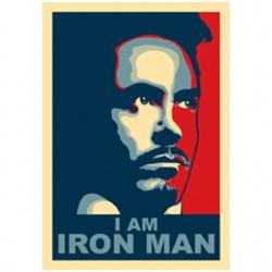 I AM IRONMAN white...