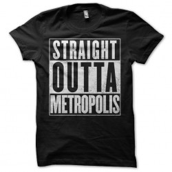 Metropolis t-shirt black...