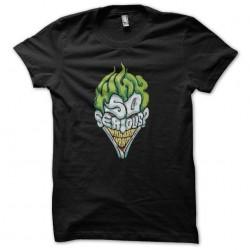 tee shirt joker why so...