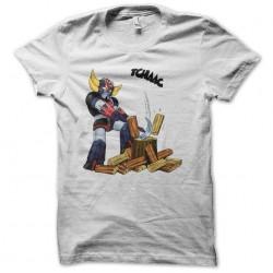 tee shirt goldorak bucheron...