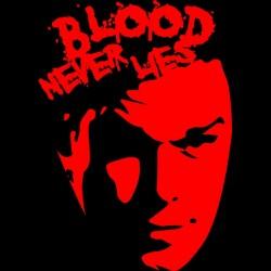 tee shirt Dexter  Blood never lies  sublimation