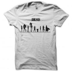 Tee shirt One piece avec des hombres sombres  sublimation