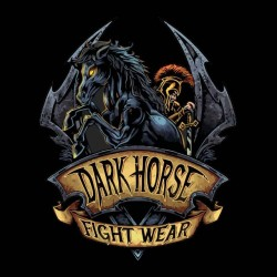 dark horse knight tee shirt black sublimation