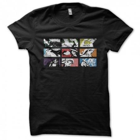 One piece art black sublimation t-shirt