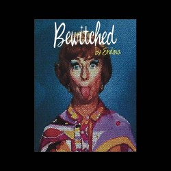 tee shirt bewitched endora mosaique  sublimation