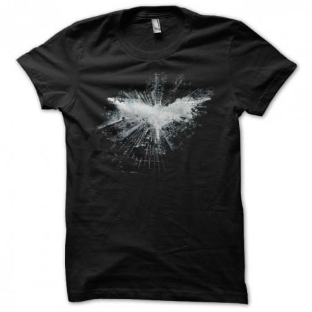Batman logo art work black sublimation t-shirt