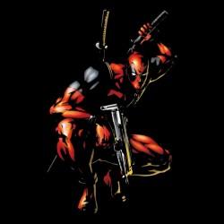 Tee shirt Deadpool  sublimation