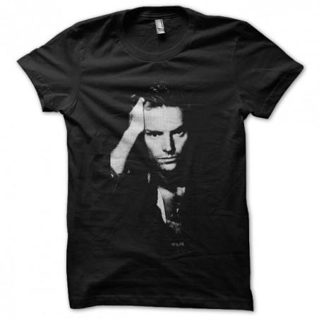 Tee shirt Sting album cover black sublimation
