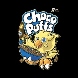 shirt choco puffs final fantasy sublimation