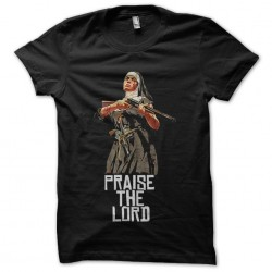 tee shirt gta pray the lord...