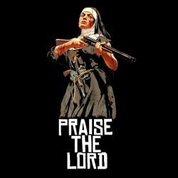 tee shirt gta pray the lord sublimation