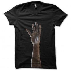 t-shirt zombie hand black...