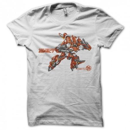 Super robot war PTX 003c white sublimation t-shirt