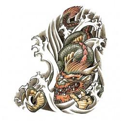 T-shirt dragon colorful...
