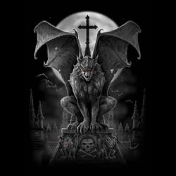 vampires sublimation gargoyles t-shirt