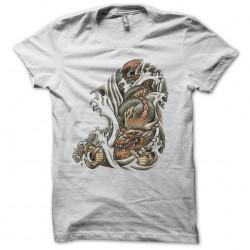 Tee shirt dragon coloré tatouage  sublimation