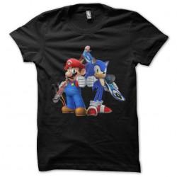 tee shirt mario & sonic...